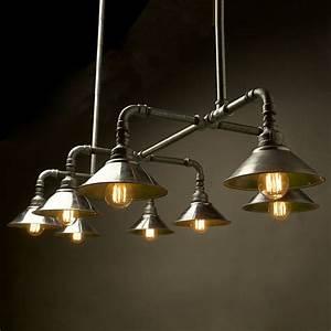Best pipe lighting ideas on industrial