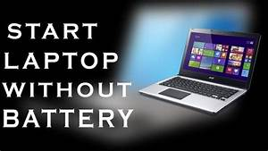 New Laptop Battery Instructions Wales