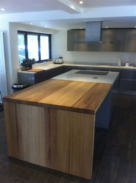 kitchen islands ideas iroko work island extension kitchen design