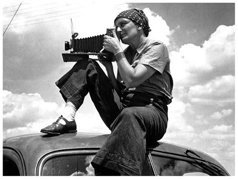 Photographer Dorothea Lange 1934