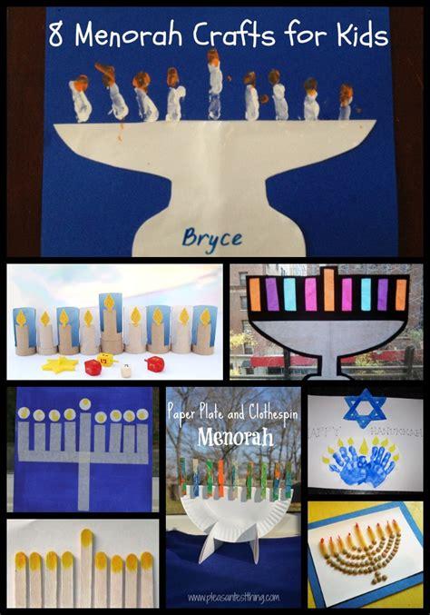 jewish preschool lesson plans chanukah crafts for 8 menorahs our potluck family 13607