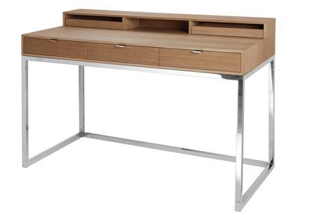 Moderner Sekretär Schreibtisch by Sekret 228 R Eiche Natur Schreibtisch Verchromt Tisch Modern