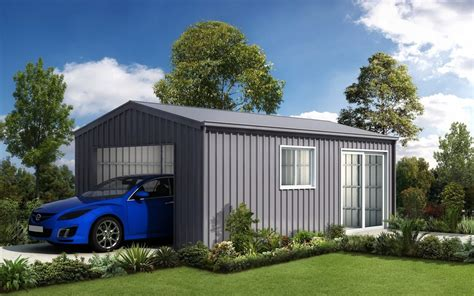 single car garage steel garages and sheds for ranbuild