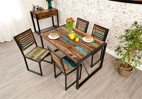 Maybe you would like to learn more about one of these? Industrial Chic Small Dining Table | Small dining table ...