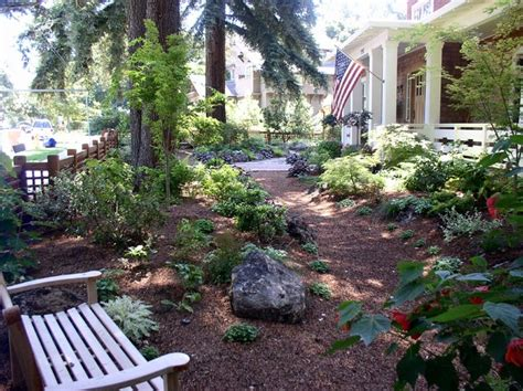 lawn free idea for landscaping our front space pine