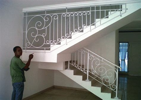 jual railing tangga minimalis jogja  lapak didik