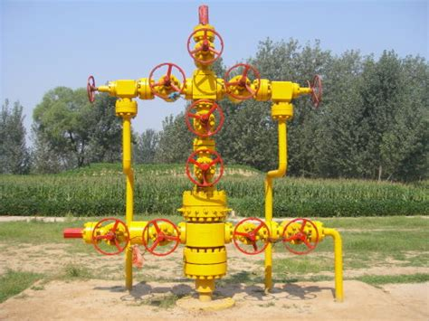 oil field manufacture gas well christmas tree buy gas
