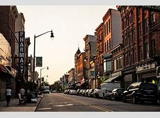 Which city has North Jersey's best downtown Hoboken