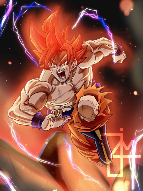 goku limit breaker por jim dibujando