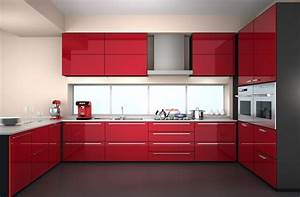 Cuisine Couleur Aubergine : meuble cuisine couleur aubergine cuisine moderne couleur ~ Premium-room.com Idées de Décoration
