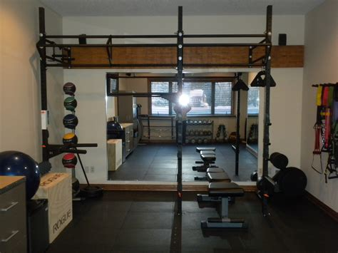 project home gym complete     ripped
