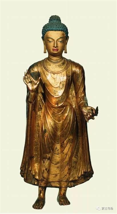 Standing Buddha Palace Potala Century Statue 7th
