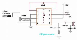 Ic Lm386  Pin Configuration  Circuit Diagram  Features And