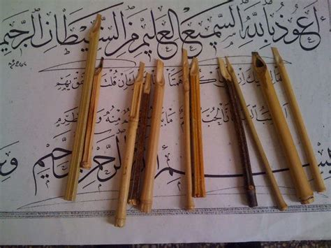xcalligraphy reed  qalam bamboo