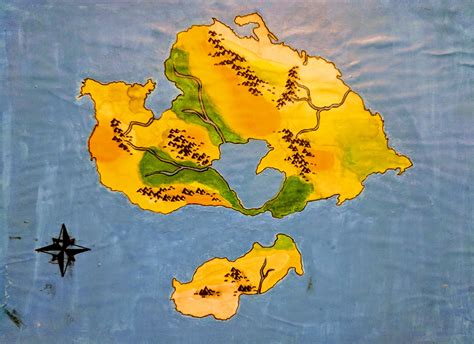 My first world Pangea Proxima : worldbuilding