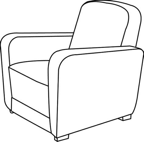 fauteuil de bureau pied fixe coloriage fauteuil à imprimer