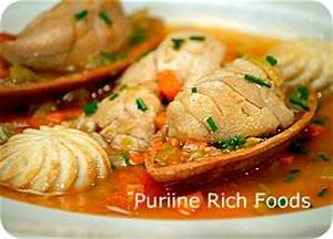 Purine Content Of Foods Chart Purine Rich Foods The Gout Killer Bert Middleton