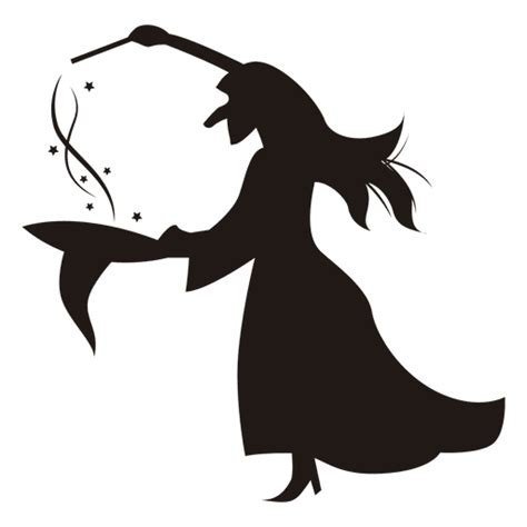 witch template silhouette  getdrawings