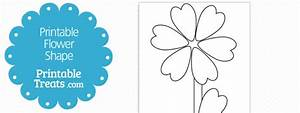 Free Flower Leaf Template  Download Free Clip Art  Free