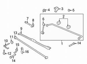 Ford Mustang Suspension Track Bar  Rear  Components