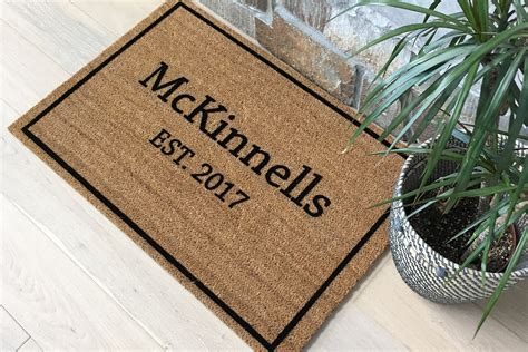 unique doormats door mats personalized doormat custom doormat welcome