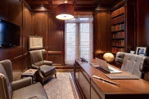 ideas for decorating a small living room wood paneling adds elegance and warmth to your home office