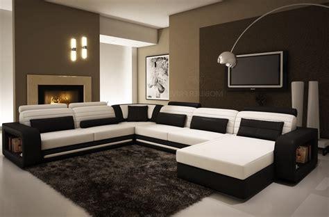 mobilier de canapé d angle canapé d 39 angle en cuir 6 8 places mobilier privé