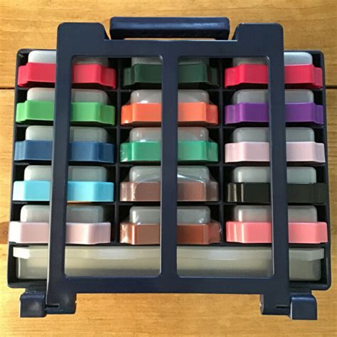 whispers stamp  ink pad set acrylic block rubber letters