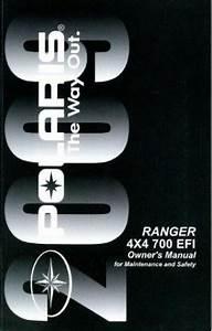2009 Polaris Ranger 4x4 700 Efi Owners Manual