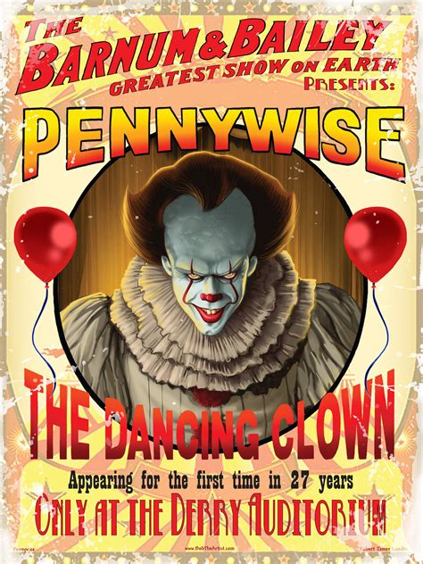Pennywise Poster - Bob The Artist