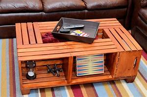 items similar to crate coffee table on etsy With coffee table made out of crates