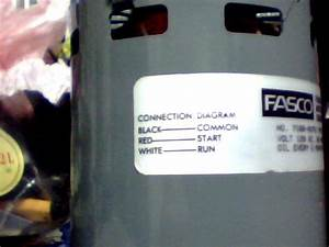 Please Help Wiring 3 Wire Ac Fasco Motor