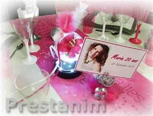 Deco Table Anniversaire Femme : deco anniversaire fille 20 ans ~ Melissatoandfro.com Idées de Décoration