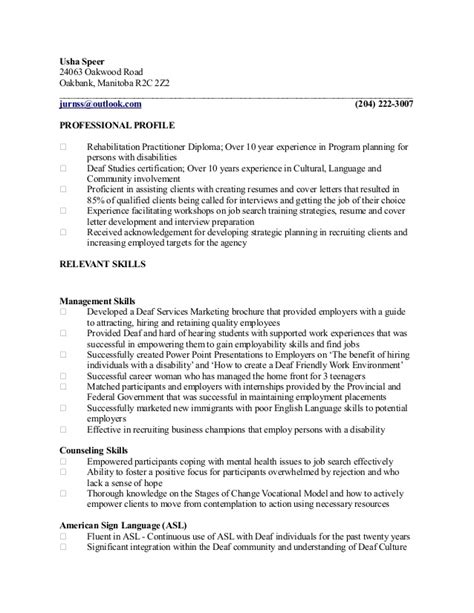 career counsellor resume