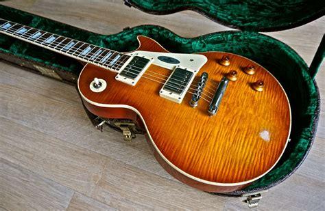 maybach lester  midnight sunset aged  burst guitar