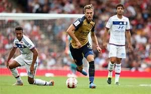Aaron Ramsey: Arsenal man celebrates Emirates Cup win