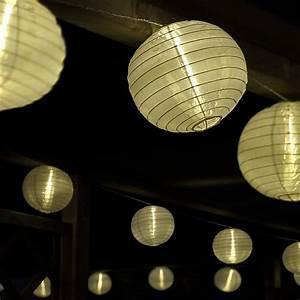 Solar Lichterkette Outdoor : led lichterkette mit 15 xxl lampions innen und au en ~ Whattoseeinmadrid.com Haus und Dekorationen