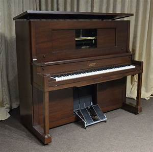 Gulbransen Mahogany Player Piano – Antique Piano Shop