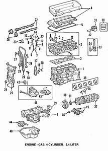 Genuine Oem Engine Parts Parts For 2004 Toyota Camry Le