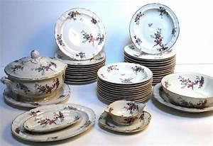 Service De Table Porcelaine : service de table oiseaux ~ Teatrodelosmanantiales.com Idées de Décoration