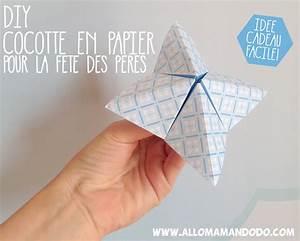 Fête Des Pères Cadeau : diy cocotte en papier pour papa id e cadeau f te des p res allo maman dodo ~ Melissatoandfro.com Idées de Décoration