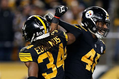 pittsburgh steelers ill wear  color rush jerseys