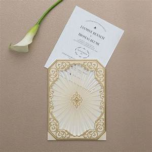 art deco laser embossed invitations with personalisation With white embossed wedding invitations uk