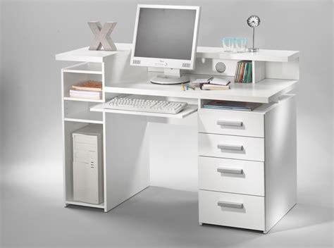 bureaux meubles bureau franzisca blanc