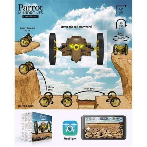 jumping sumo kaki parrot minidrones pf droneshop