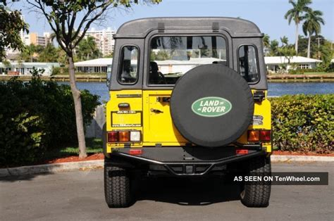 land rover defender  base sport utility  door
