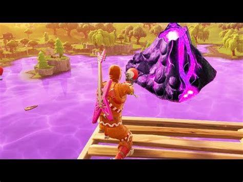 fortnite cube volcano event happening  fortnite
