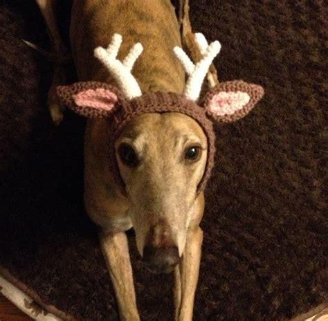 handmade deer antler snood crocheted antler hat brown