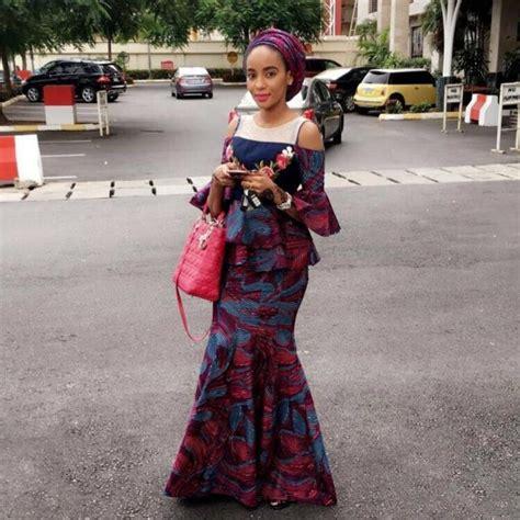 latest nigerian hausa ankara styles  fashionre