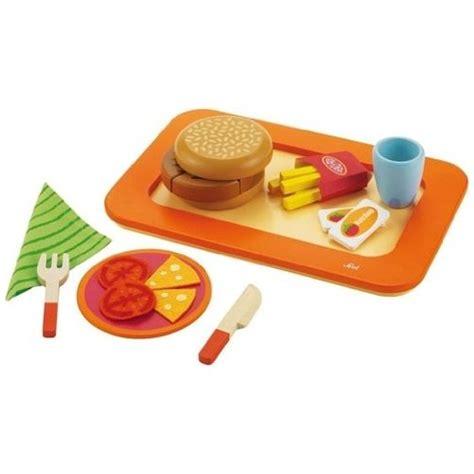 cuisine vtech dînette hamburger frites jouet aliments à découper jeu d